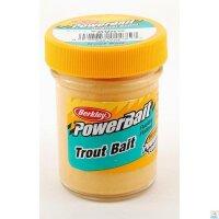 Berkley Biodegradable Trout Bait ohne Glitter Gelb