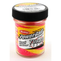 Berkley Select Glitter Turbo Dough 2-Farbig Gelb /...