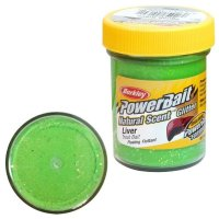 Powerbait Dough Natural ScentLiver - Spring Green