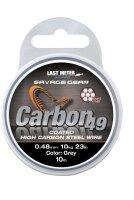 SG Carbon49 0.48mm 11kg 24lb Coated Grey 10m