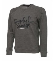 Savage Gear Simply Savage Sweater Melange Pullover Pulli...