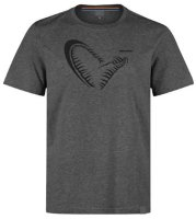 Savage Gear Simply Savage Tee Grey Angelshirt T-Shirt...