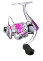 Okuma Pink Pearl V2 3000FD Spinnrolle Angelrolle...