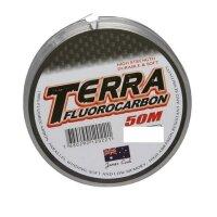 James Cook Terra Fluorocarbon 0,24mm 6,3kg 50m Schnur...