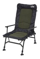 DAM Camovision Adjustable Chair With Armrests Steel Stuhl...