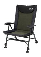 DAM Camovision Easy Fold Chair With Armrests Alu Stuhl...