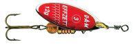 DAM Effzett Spinner Predator Rot-Glitter 17g