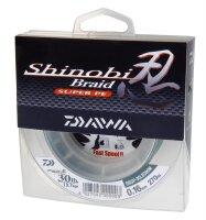 Daiwa Shinobi Braid 270m 0,28mm 18,5kg grün