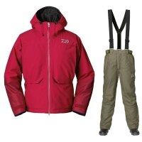 DAIWA GT Goretex Winter Suit Red Gr. XXXL Thermoanzug...