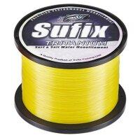 Sufix Tritanium Yellow 0,45mm 13,7Kg 680m Monofile Schnur...