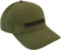 Shimano Base Cap Olive Green Angelmütze Kappe