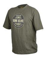 Prologic Bank Bound Badge Tee T-Shirt Shirt Green