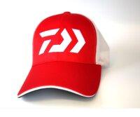 Daiwa D-Vec Mütze Kappe rot red