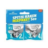 Lieblingsköder Spitze Haken 1/0 Mix