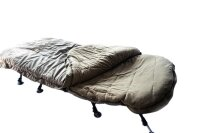 Mostal Sleeping Bag Schlafsack mit Fleecefutter 4-Season...