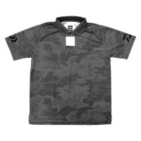 Daiwa Poloshirt atmungsaktiv camo grey Gr. M UV-Schutz