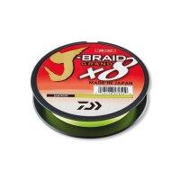 Daiwa J-Braid Grand 8 0,18mm 270m 12,5Kg Chartreuse