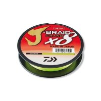 Daiwa J-Braid Grand 8 0,24mm 270m 22kg Chartreuse