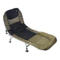 Q-TAC Karpfenliege Bedchair 6-Bein Anglerliege Deluxe...
