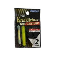 Angelspezi Knicklichter 4.5x37mm gelb 100 Stück...